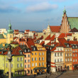 Castle square, Warsaw, Poland — Stock Photo #9196732