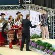 ������, ������: Awarding ceremony of Rhythmic Gymnastics Deriugina Cup