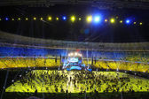 Olympic stadium opening ceremony, Kyiv, Ukraine — Stock Photo