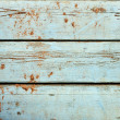 Painted wooden planks - Stock Photo