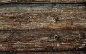 Grunge wooden logs — Stock Photo