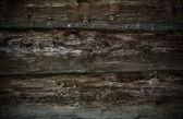 Grunge houten logboeken — Stockfoto