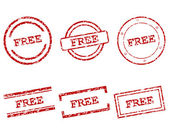 Free stamps — Stock Vector
