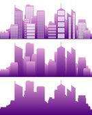 City skyline — Stock Vector