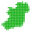 Map of Ireland — Stock Vector #9293749