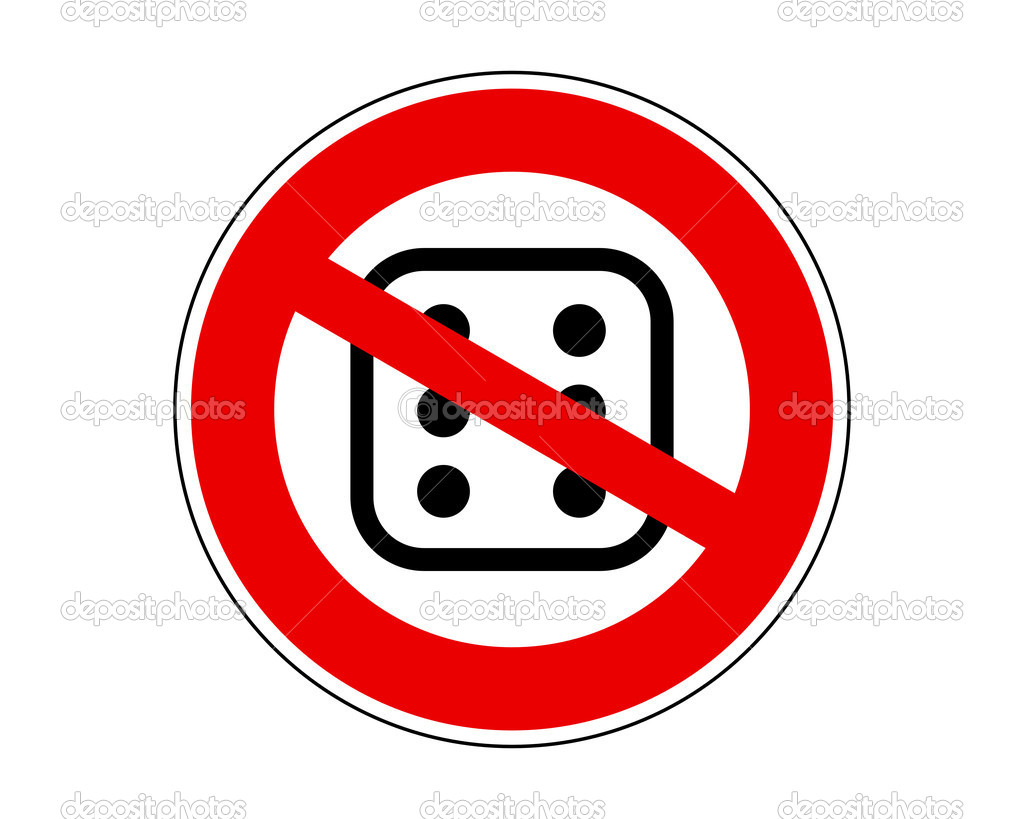No gambling  Stock Vector #9349404