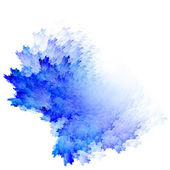 Blue watercolor abstraction — Stock Photo