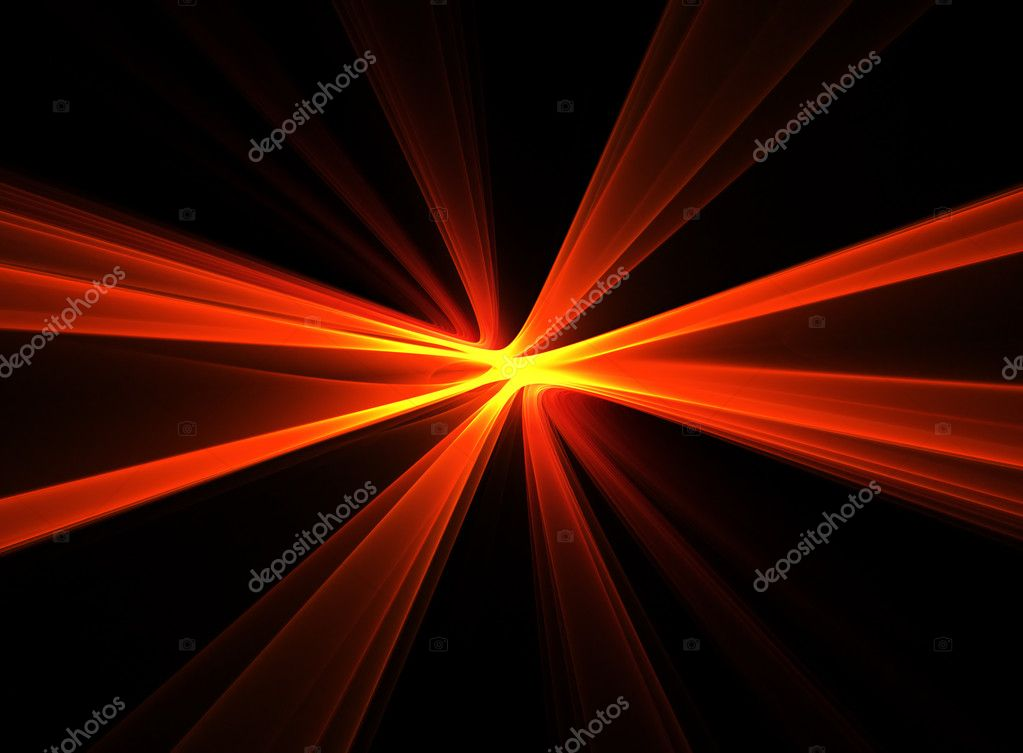 Abstract bright radiant fractal flash — Stock Photo #9686539