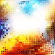 Colored mosaic — Vector de stock #9912243
