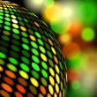 Vector de stock : Disco background
