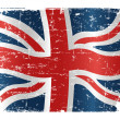 UK flag design — Stock Vector