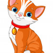 Cute cat — Stock Vector #10659056