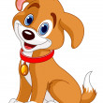 Cute Dog — Stock Vector #10659058