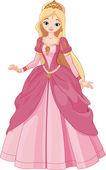 Mooie prinses — Stockvector