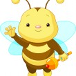 Cute baby Bee — Stock Vector