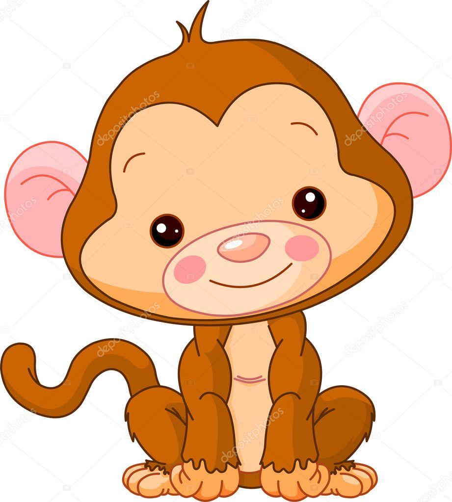 fun zoo monkey stock vector dazdraperma 8518871
