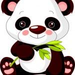 Fun zoo. Panda — Stock Vector #8753993
