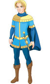 Brave Prince — Stock Vector
