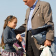 Girl and dad. — Stock Photo