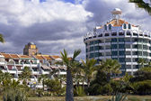 Modern hotels on Tenerife — 图库照片
