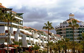 Modern hotels on Tenerife — Stock Photo