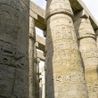 Columns with hieroglyphs in Karnak — Stock Photo #8227677