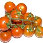 Fresh red cherry tomatoes — Stock Photo