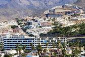 Modern hotels on Tenerife — Stock Photo