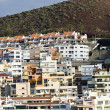 Modern apartments on Los Cristianos — Stock Photo