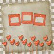Greeting Card to St. Valentine's Day with hearts — ストック写真 #8706223