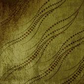 старая гранж-фон с абстрактный сучки орнамент — Стоковое фото