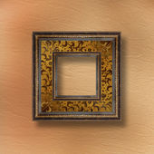 Old grunge frames Victorian style on the abstract background wit — Stock Photo