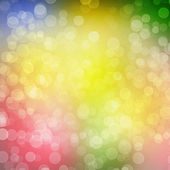 Multicoloured backdrop for greetings or invitations with blur bo — Foto Stock