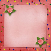 Abstract background with asters for holiday invitations or greet — Stock Photo