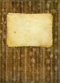 Grunge papers design in scrapbooking style with blank for text — Stock Photo
