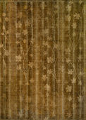 Abstract gold floral background for cover or album — Stock Photo