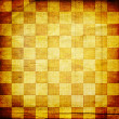 Vintage abstract background with chequered chess ornament — Stock Photo #9308032