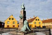 Old city Copenhagen — Stock Photo