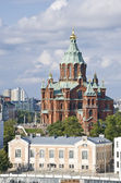 Helsinki Orthodox church — Stock Photo
