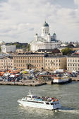 Helsinki harbor — Stock Photo