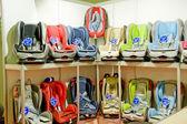 Children's automobile armchair — Stock Photo