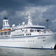 Scandinavian cruise ship — Stock Photo