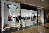 Show-pencere kadın butik — Stok fotoğraf