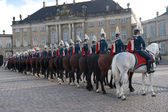 Danish royal guard — Stock Photo
