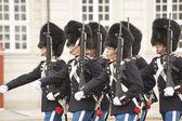 Denmark Royal guard — Stock Photo
