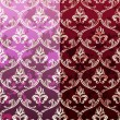 Seamless Background set retro style wallpaper vintage with soile — Stok Vektör #8375405