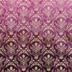 sömlös bakgrund violett royal ange retrostil tapeter vinta — Stockvektor