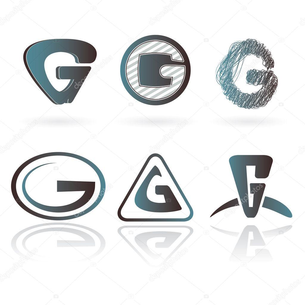 Set of letter G... G Design