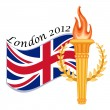 Stock Vector: London 2012 - international sports games