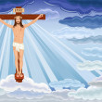 Resurrection of Jesus Christ — Stock Vector